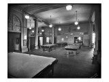 Tacoma Elks Club Billiard Room, 1925 Premium Giclee Print by Marvin Boland