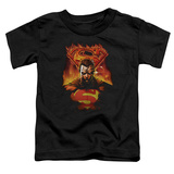 Toddler: Superman - Man on Fire T-Shirt