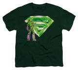Youth: Superman - Lex & Kryptonite Logo T-Shirt