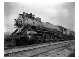 Locomotive 2517, 1925 Giclee Print by Asahel Curtis