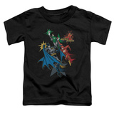 Toddler: Justic League America - Action Stars T-shirts