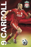 Liverpool - Carroll 2011/12 Poster