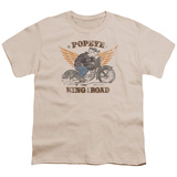 Youth: Popeye - King of the Road T-shirts