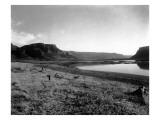Wallula Gap, Columbia River, 1915 Giclee Print by Asahel Curtis