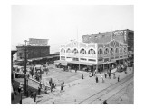 Pike Place Market, Seattle, WA, 1912 Reproduction proc&#233;d&#233; gicl&#233;e par Asahel Curtis