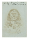 Chief Leschi, Circa 1894-1899 Giclee Print by Puyallup Mitchell