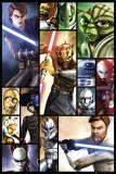 Star Wars - Clone Wars Posters