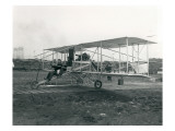 First Passenger Flight in Washington, September 28, 1912 Premium Giclee Print by Marvin Boland