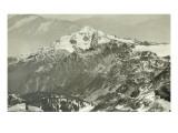 Glacier Peak, 1909 Giclee Print by Asahel Curtis