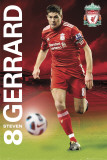 Liverpool - Gerrard 2011/12 Print