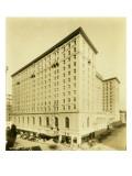 Olympic Hotel, Seattle, 1925 Reproduction procédé giclée par Asahel Curtis