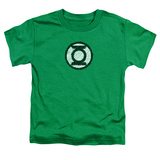 Toddler: Green Lantern - Scribble Lantern Logo T-shirts