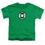 Toddler: Green Lantern - Scribble Lantern Logo T-Shirt