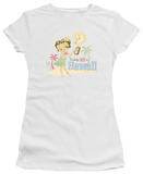 Juniors: Betty Boop - Hot in Hawaii T-Shirt