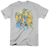 DC Comics - Spin Circle Fight T-shirts