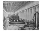 Mcnary Dam Powerhouse, 1953-1955 Giclee Print