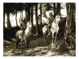 Yakama Warriors, 1911 Giclee Print by L.V. McWhorter