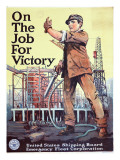 """On the Job For Victory"", 1918 Giclee Print"