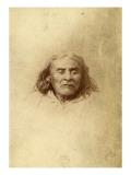 Chief Seattle, Circa 1865 Reproduction procédé giclée par Joseph Thwaites