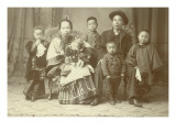 Chinese Family, Circa 1890 Giclee Print by Ida B. Smith