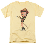 Betty Boop - Firefigher Boop T-shirts