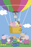 Peppa Pig - Balloon Plakát
