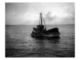 Fishing Boat, Circa 1913 Giclee Print by Asahel Curtis