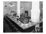 Union Depot Lunch Counter, 1923 Giclee Print by Asahel Curtis