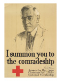 """I Summon You to Comradeship"", 1918 Giclee Print"