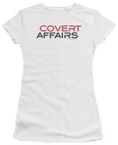 Juniors: Covert Affairs - Covert Affairs Logo T-shirts