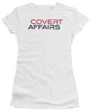 Juniors: Covert Affairs - Covert Affairs Logo T-Shirt