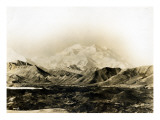 Mount McKinley, 20,300 Ft., 1924 Giclee Print by Asahel Curtis
