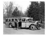 North Coast Transportation Co. Bus Giclee Print by Chapin Bowen