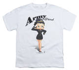 Youth: Betty Boop - Army Boop T-Shirt