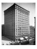 Alaska Building, 1911 Premium Giclee Print by Asahel Curtis
