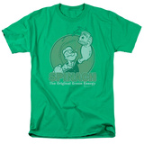 Popeye - Green Energy Shirts