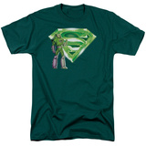 Superman - Lex & Kryptonite Logo T-Shirt