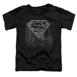 Toddler: Superman - Skyline T-Shirt