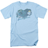 Justic League America - Watercolor Hair T-shirts