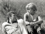 Johnny Hallyday and Sylvie Vartan, June 6, 1963 Photographic Print by Luc Fournol