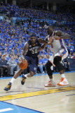Memphis Grizzlies v Oklahoma City Thunder - Game One, Oklahoma City, OK - MAY 1: Zach Randolph and  Photographic Print by Layne Murdoch