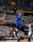 Oklahoma City Thunder v Memphis Grizzlies - Game Six, Memphis, TN - MAY 13: Russell Westbrook and O Photographic Print by Layne Murdoch