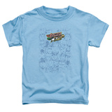 Toddler: Justic League America - On Call Shirt