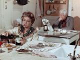 Simone Signoret et Jean Gabin : Le Chat, 1971 Papier Photo par Marcel Dole