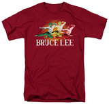 Bruce Lee - Tri-Color T-shirts