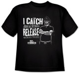 Youth:  Catch and Release Shirts