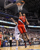 Portland Trail Blazers v Dallas Mavericks - Game One, Dallas, TX - APRIL 16: LaMarcus Aldridge Photo by Ronald Martinez