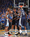 Memphis Grizzlies v Oklahoma City Thunder - Game Seven, Oklahoma City, OK - MAY 15: Marc Gasol, Ton Photographic Print by Joe Murphy