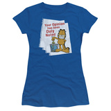 Juniors: Garfield - Duly Noted T-Shirt