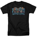Justic League America - League Lineup T-shirts
